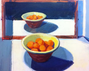 Oranges and Blue